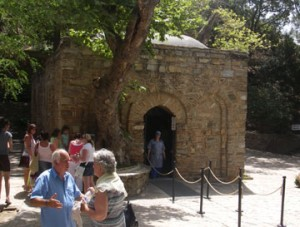 The so-called House of the Virgin Mary near Ephesus