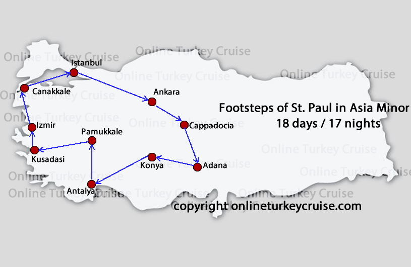 Footsteps of St.Paul Asia Minor Tour