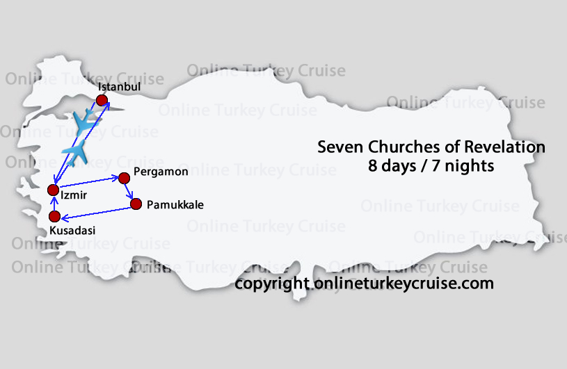 Seven Churches of Revelation Tour