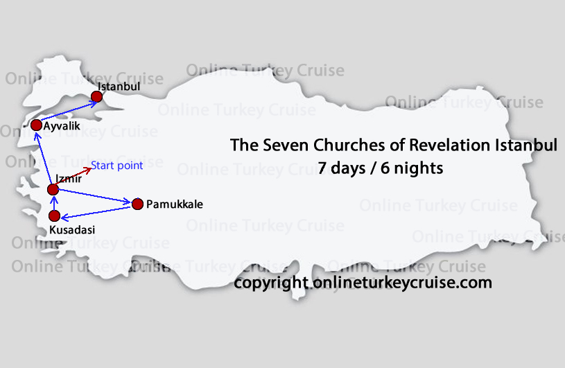 Seven Churches Revelations Istanbul Tour